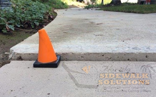Uneven Sidewalk Repair
