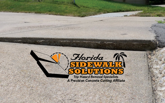 Sidewalk Crack Repair Service