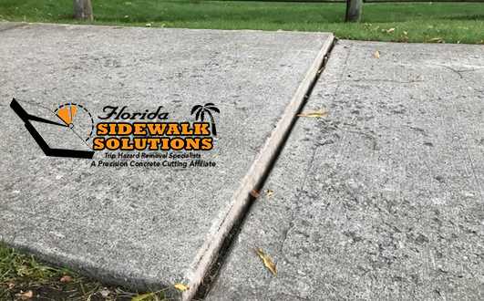 Never Neglect Sidewalk Repair to Remove a Trip Hazard