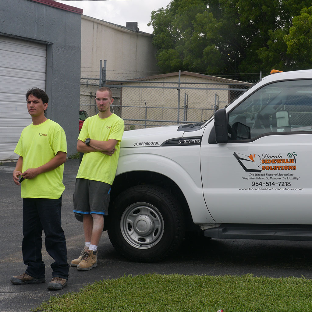 Sidewalk repair companies