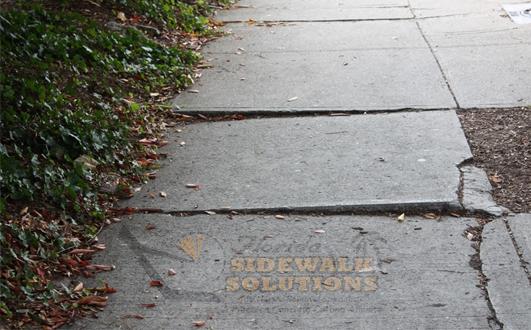 Concrete Sidewalk Leveling