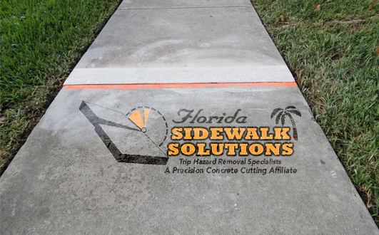 Concrete Trip Hazard Repair