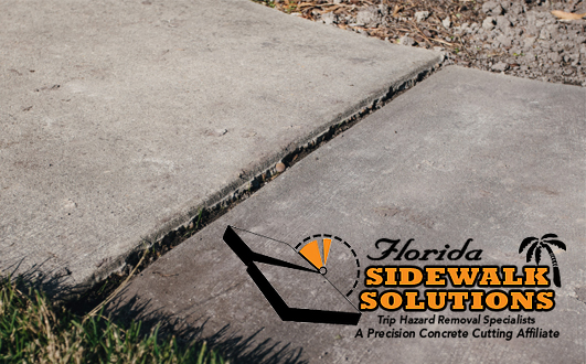 Fixing Uneven Concrete Sidewalk