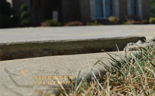 Repair Concrete Sidewalk Crack