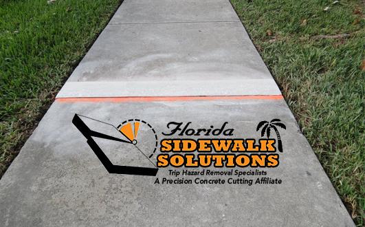 leveling a sidewalk