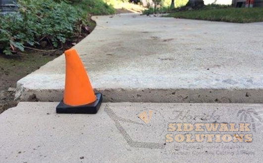 Raised Sidewalk Repair