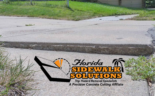 Sidewalk Trip Hazard Repair Pompano Beach