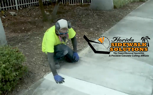 Sidewalk Cracks Repair