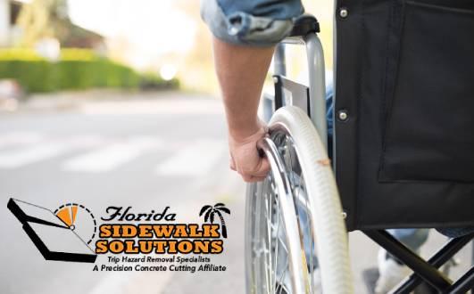 ADA Compliant Sidewalk