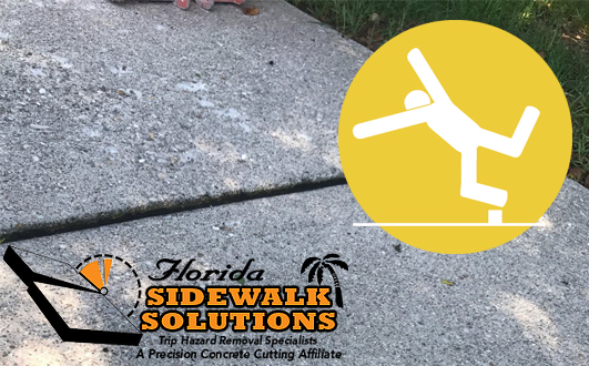 Sidewalk Trip Hazard Fix