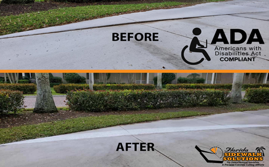 Sidewalk Repair in Plantation FL