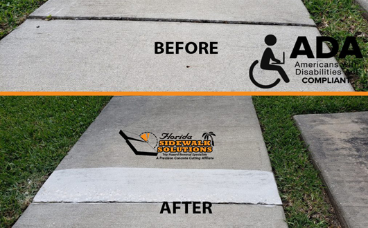 Sidewalk Repair in Davie FL